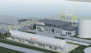 Small-Scale LNG terminal in Gdansk